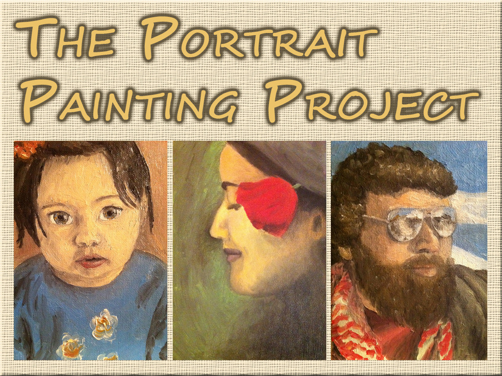 The Portrait Painting Project's video poster