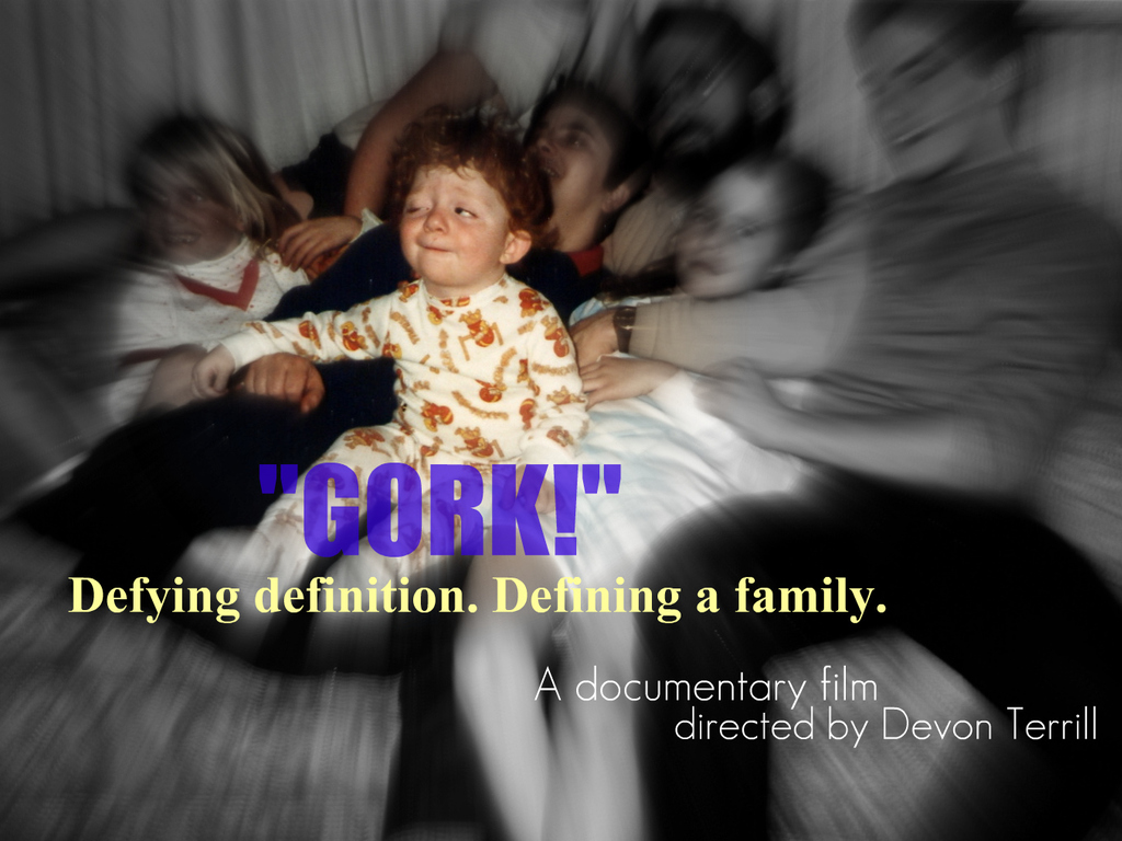 """Finish & launch """"GORK!"""", a documentary about one family's experience with disability's video poster"""