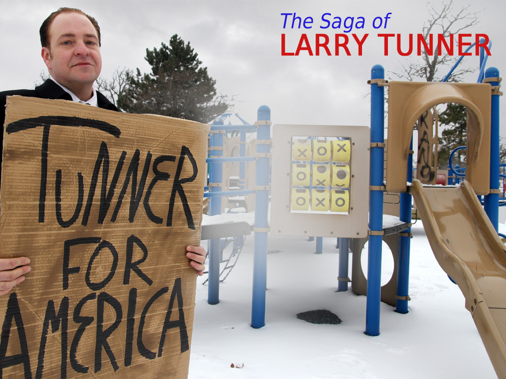 The Saga of Larry Tunner's video poster