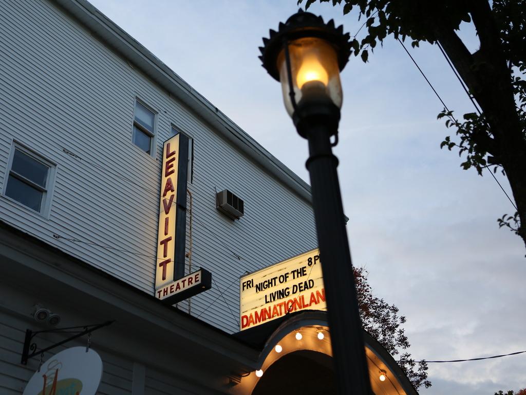 The Leavitt Theatre, Ogunquit: Digital or Dark's video poster