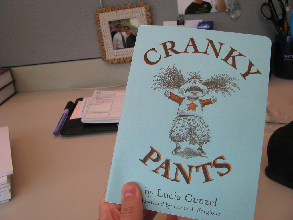 Reprint Cranky Pants + Publish Happy Pants = YAHOO!'s video poster
