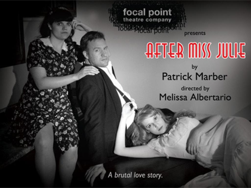 After Miss Julie's video poster