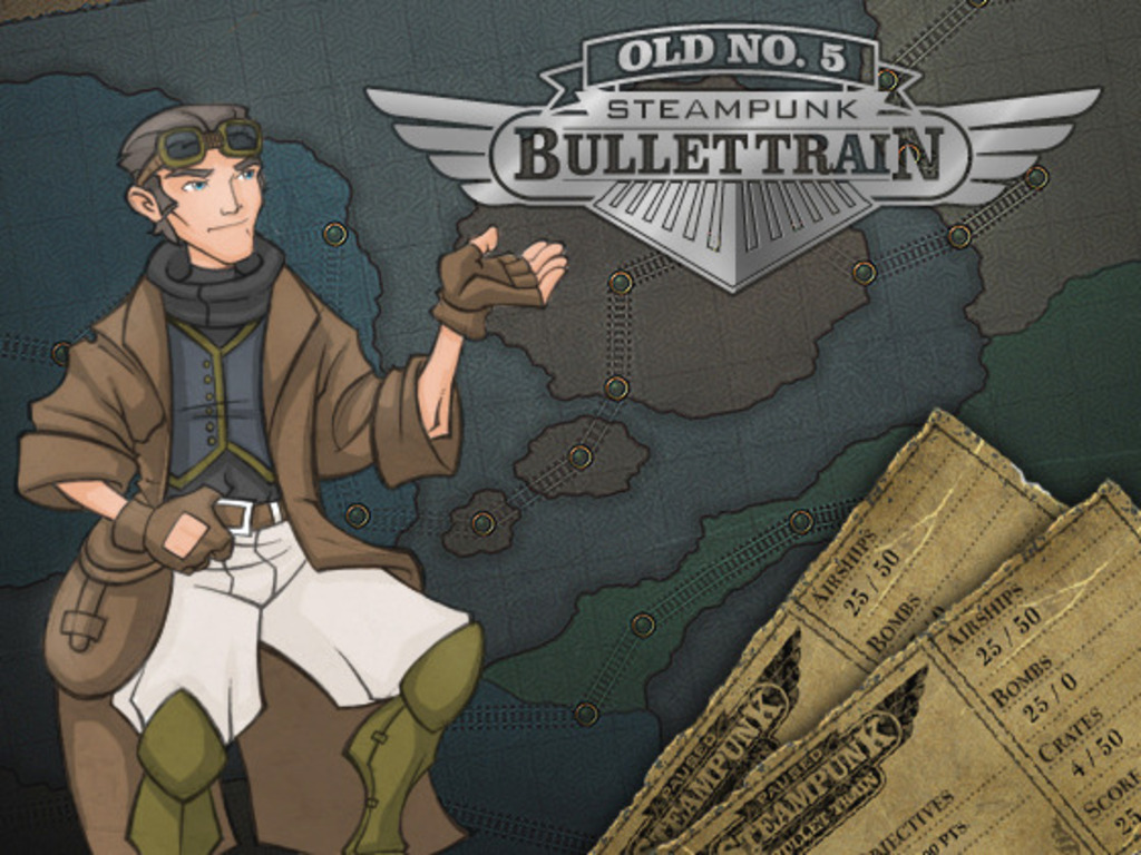 Steampunk Bullet Train (Canceled)'s video poster