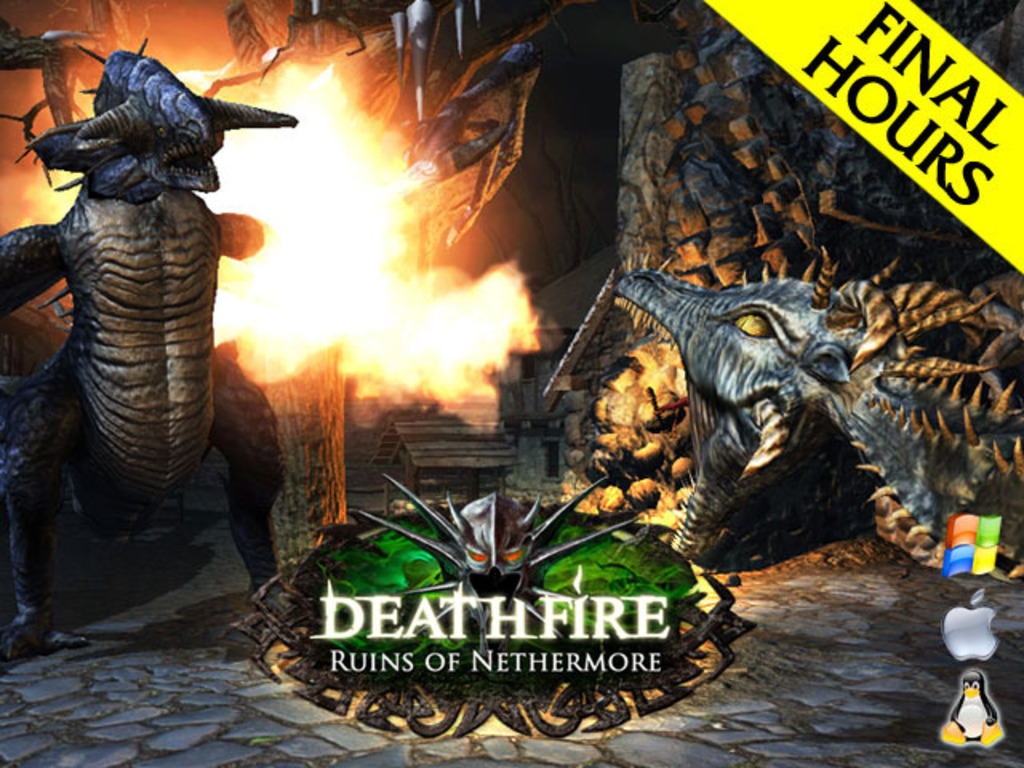 Deathfire: Ruins of Nethermore RPG's video poster