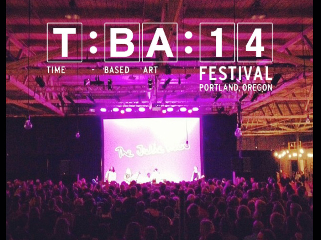 Support the Time-Based Art Festival (TBA) in 2014's video poster