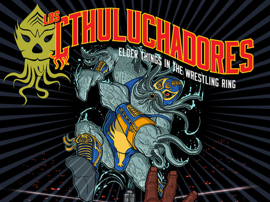 Los Cthuluchadores: Elder Things in the Wrestling Ring's video poster