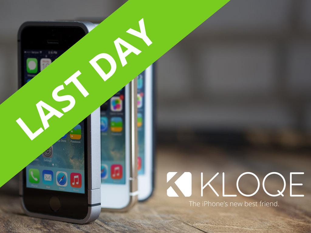 KLOQE: Minimalist all-aluminum iPhone Case's video poster