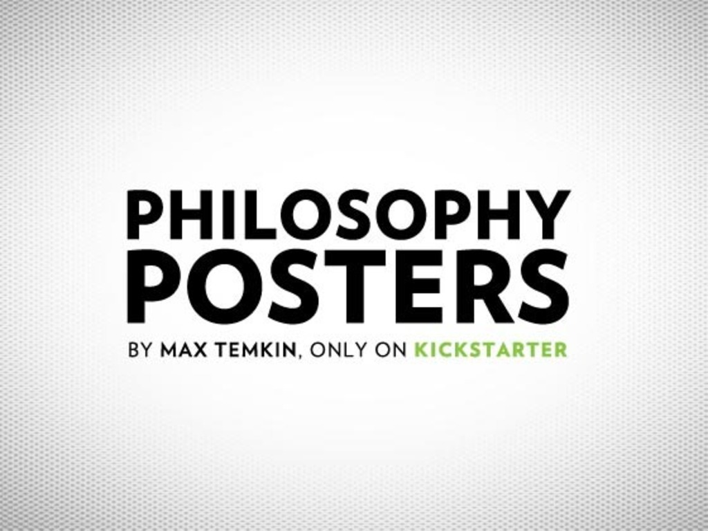 Philosophy Posters's video poster