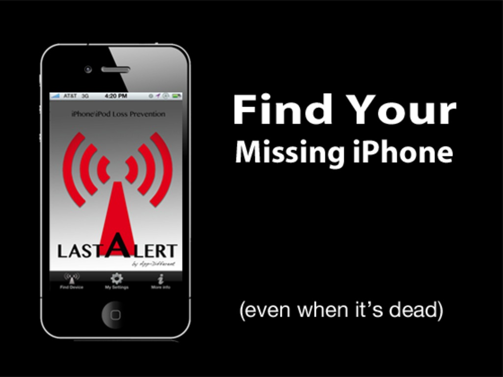 LAST ALERT - Find Your iPhone \ iPod (Even when it's dead)'s video poster