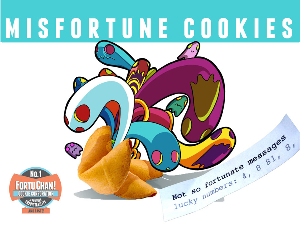Misfortune Cookies - Surprise Your Friends w/Funny Fortunes!'s video poster