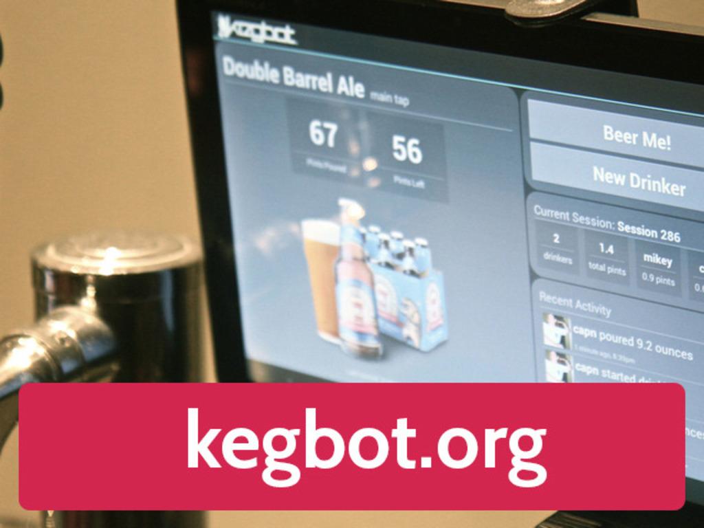 Kegbot: Tablet-Powered Beer Kegerator's video poster