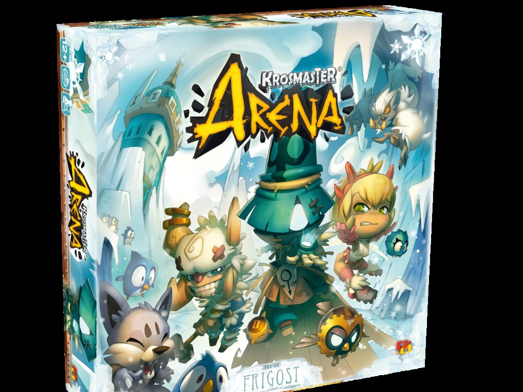 Krosmaster Arena Anime Miniatures Game - Frigost Expansion's video poster