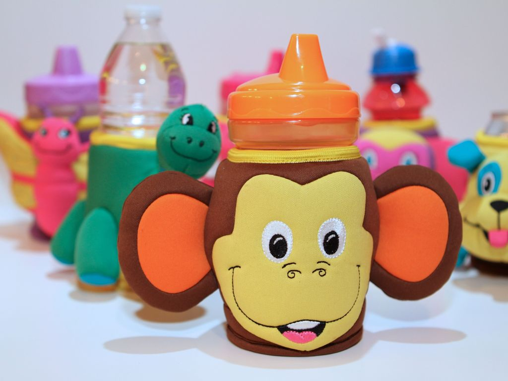 ZooMoos - Insulated & Personalized Cup Holders for Kids.'s video poster