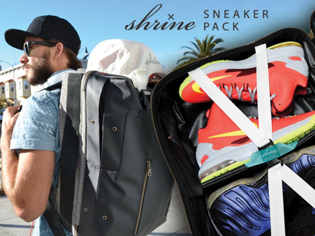 The Shrine Sneaker Pack's video poster