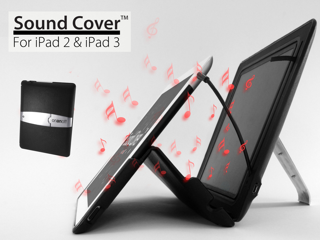 Sound Cover™: iPad Cover with Powerful Built-in Speakers's video poster