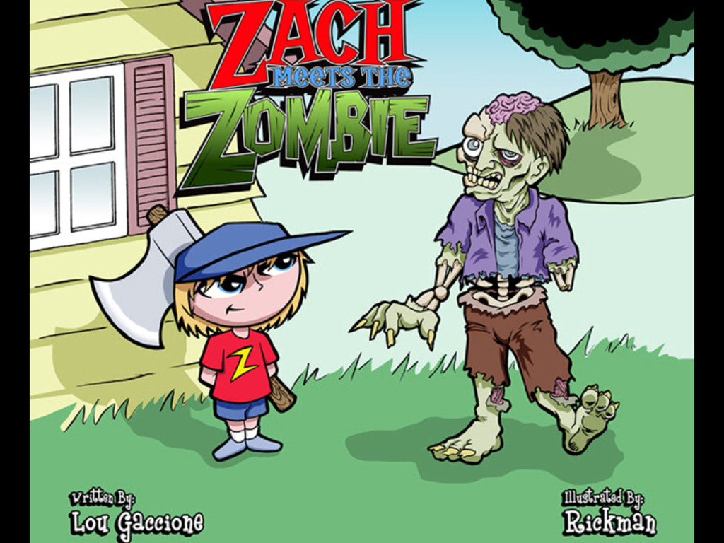 Zach meets the Zombie!'s video poster