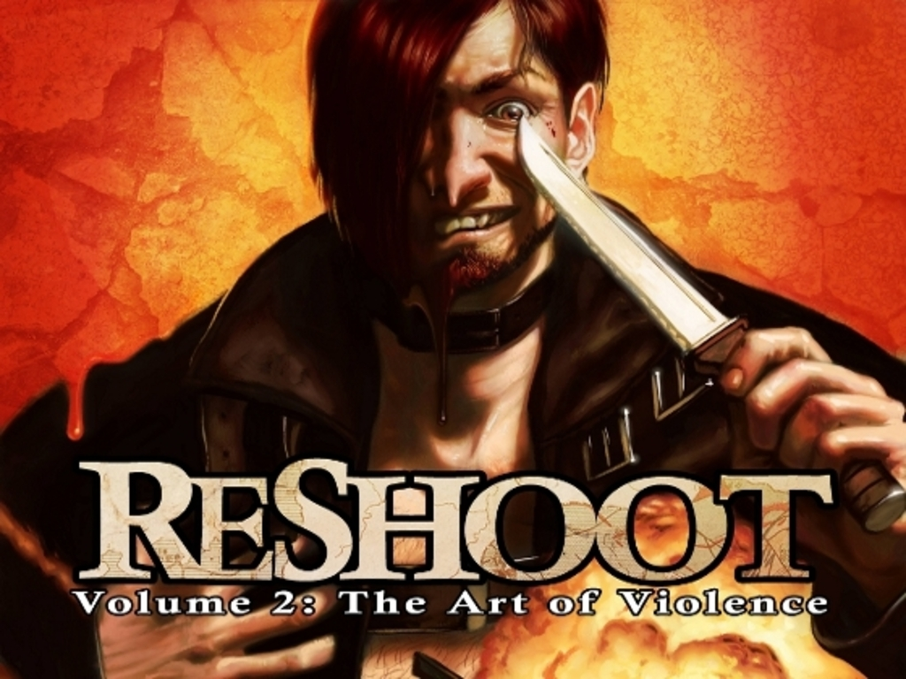 ReShoot: Volume 2: The Art of Violence's video poster