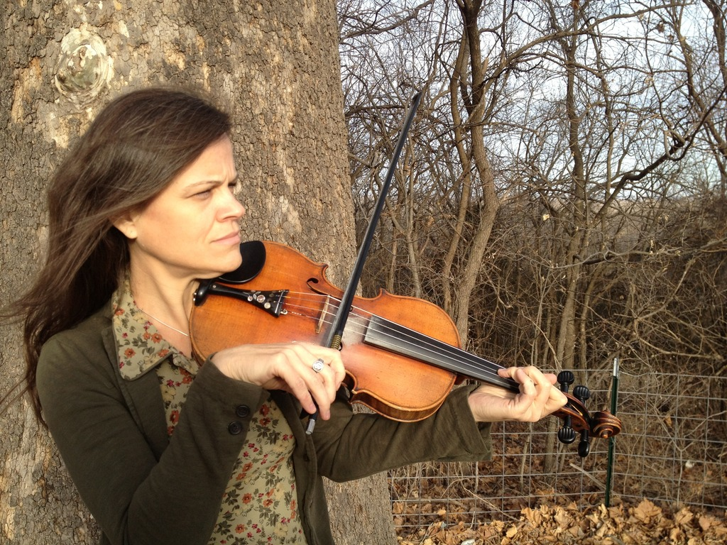 Tricia Spencer - Midwest Fiddler recording first solo album's video poster
