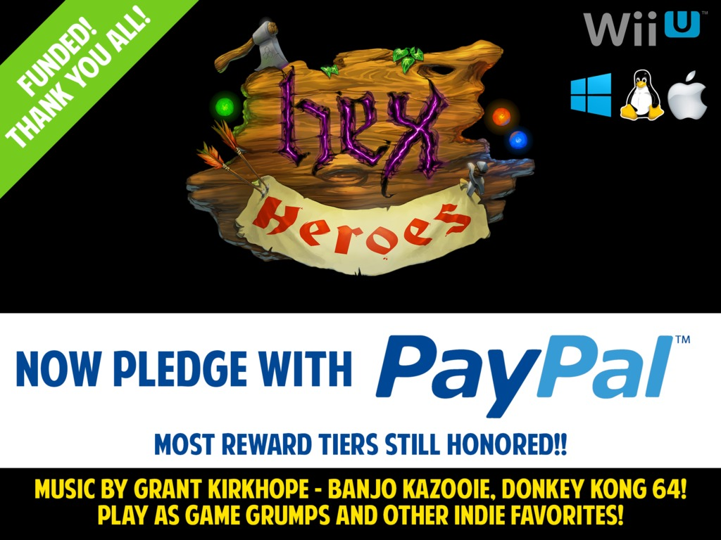 Hex Heroes - A Party RTS for Wii U/PC/Mac/Linux's video poster