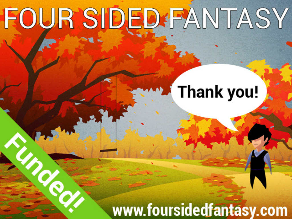Four Sided Fantasy: A Game About the Limits of the Screen's video poster
