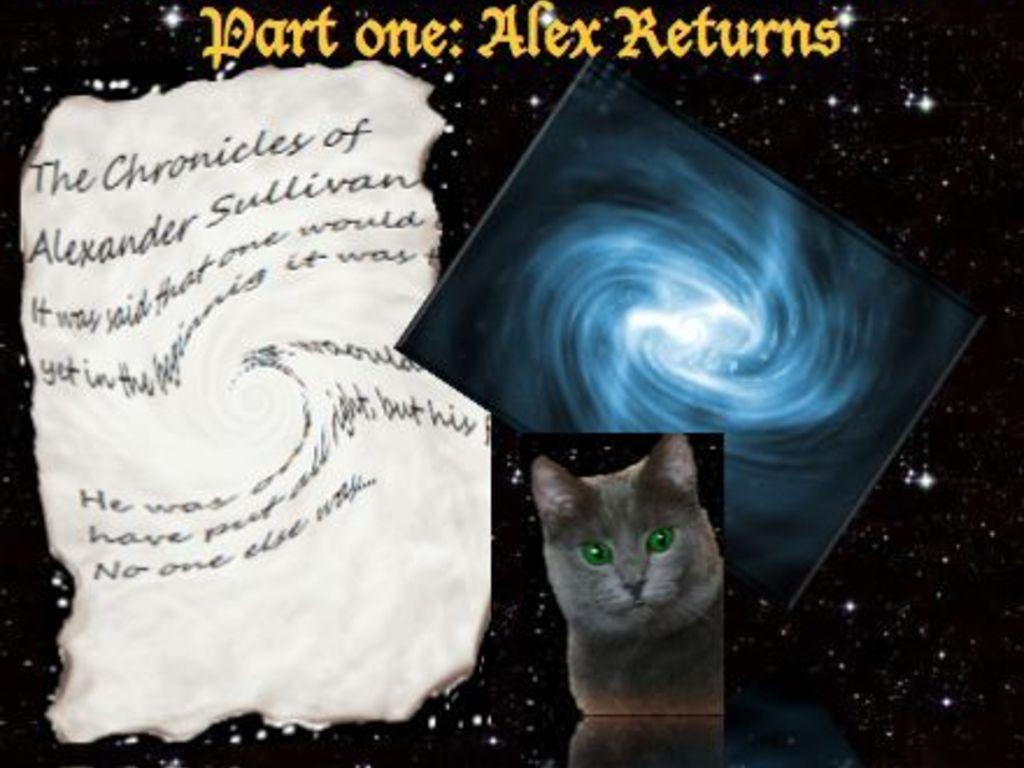 The Chronicles of Alexander Sullivan Pt One: Alex Returns.'s video poster