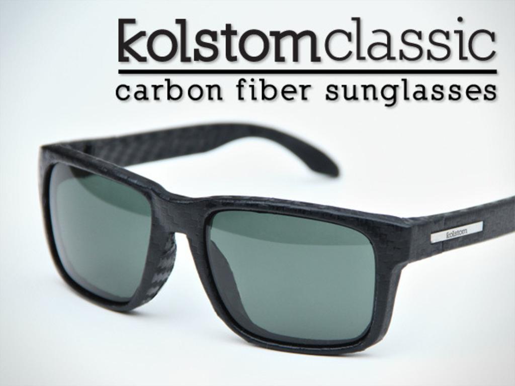 kolstom classic: carbon fiber sunglasses's video poster