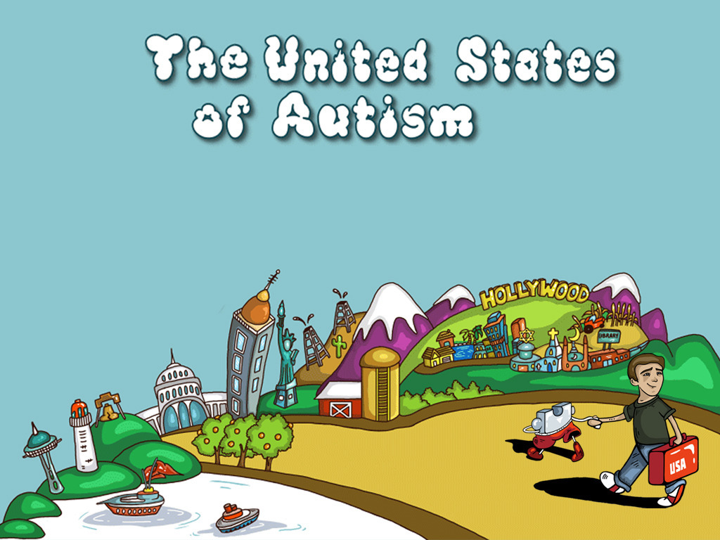 The United States of Autism's video poster