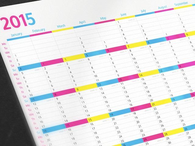 Kickstarter Calendar Planner : Awesome wall calendar perfect for planning by josh