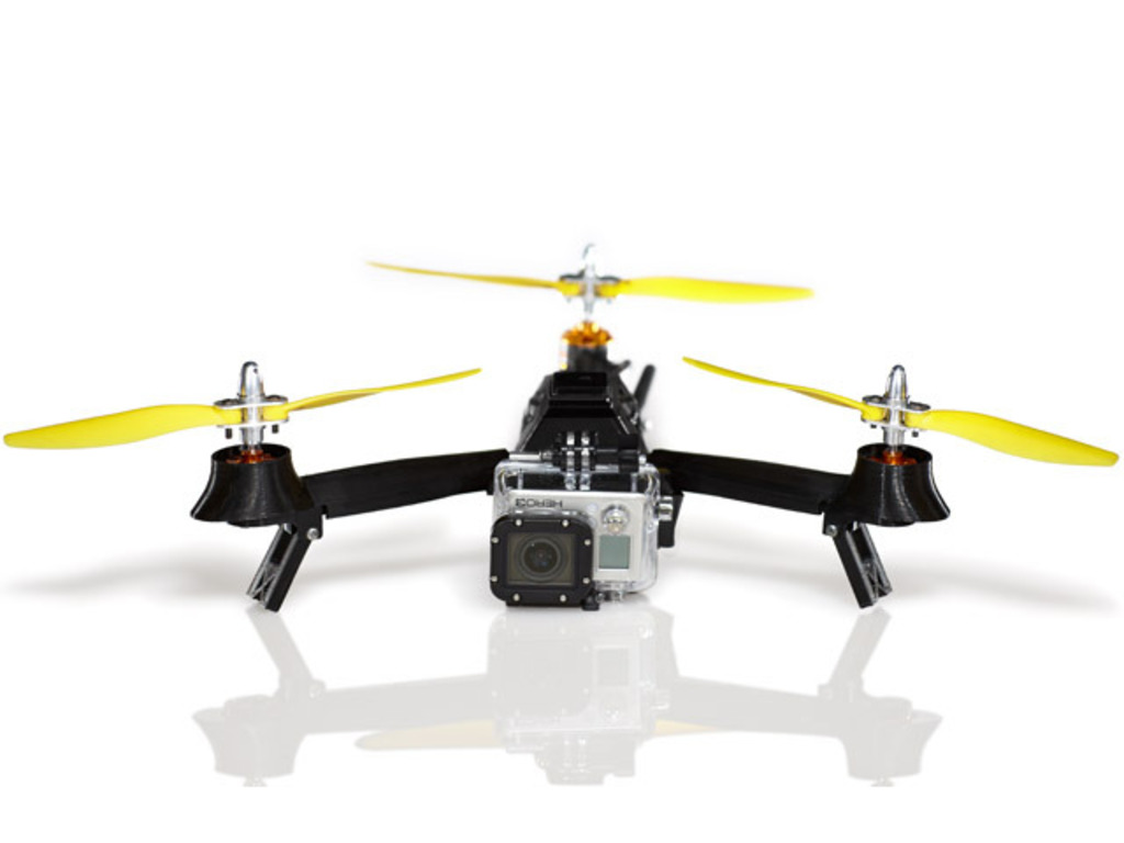 The Pocket Drone - Your personal flying robot's video poster