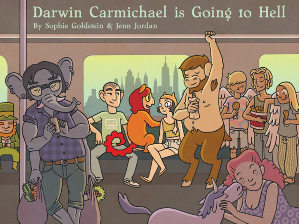 Darwin Carmichael is Going to Hell: The Book's video poster
