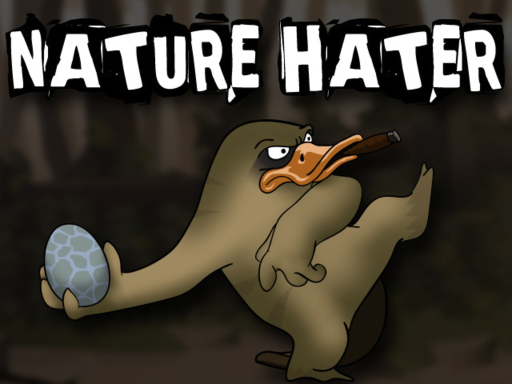 Nature Hater The Game - Join Dean the platypus & his grudge's video poster