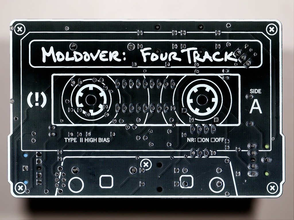 "MOLDOVER: waaaaay more than an album! - ""FOUR TRACK""'s video poster"