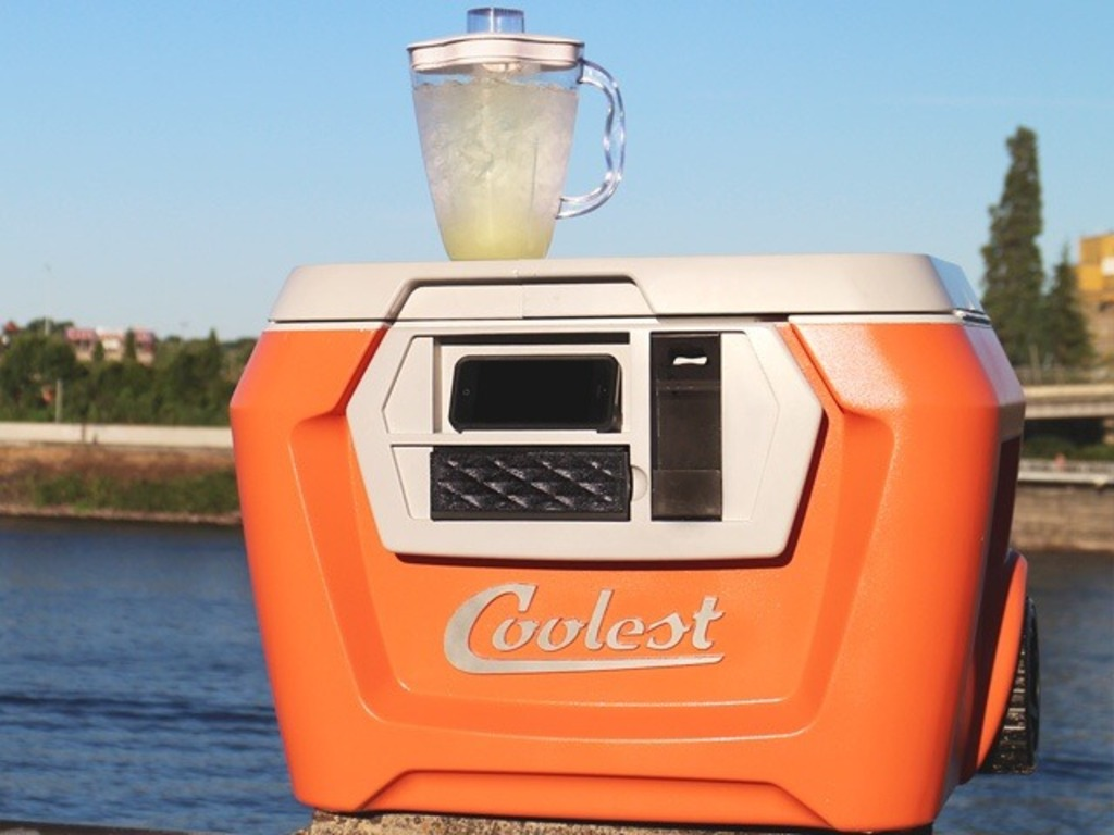 COOLEST COOLER: 21st Century Cooler that's Actually Cooler's video poster