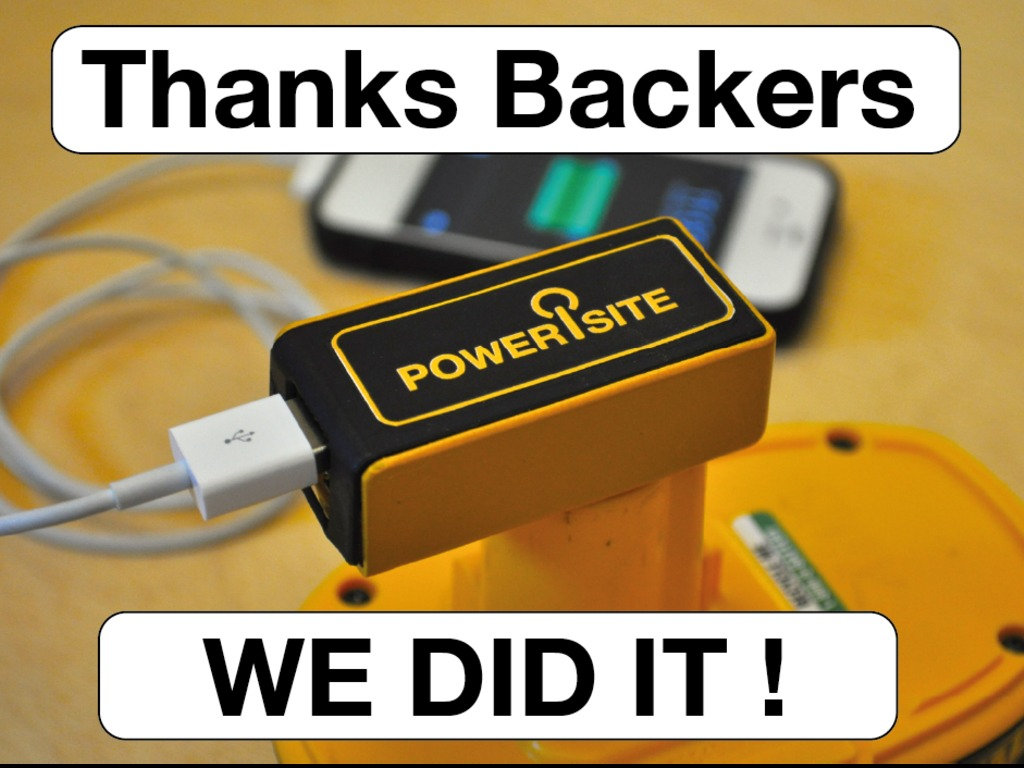 PoweriSite USB power from your cordless tool batteries.'s video poster