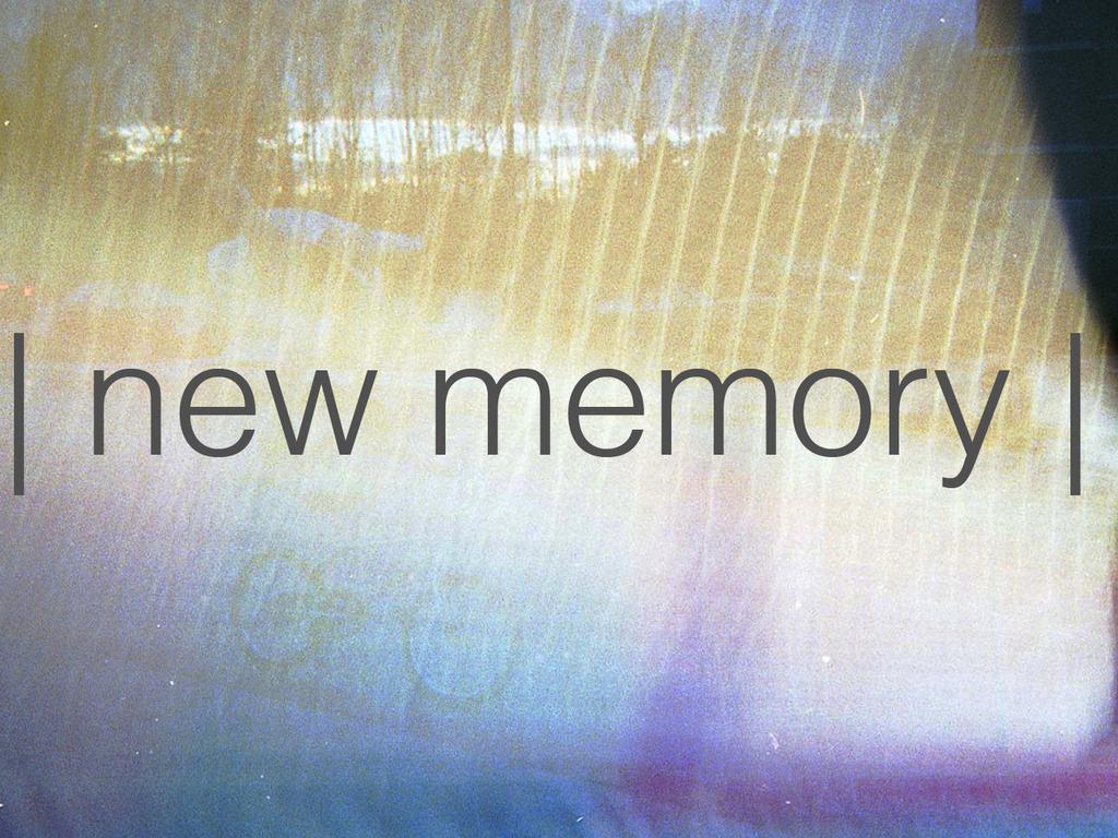 Help Press arrange's New Record, New Memory, to Vinyl's video poster
