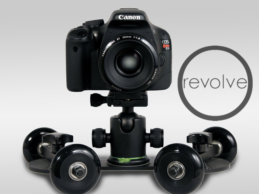 REVOLVE: the versatile, portable and affordable camera dolly's video poster