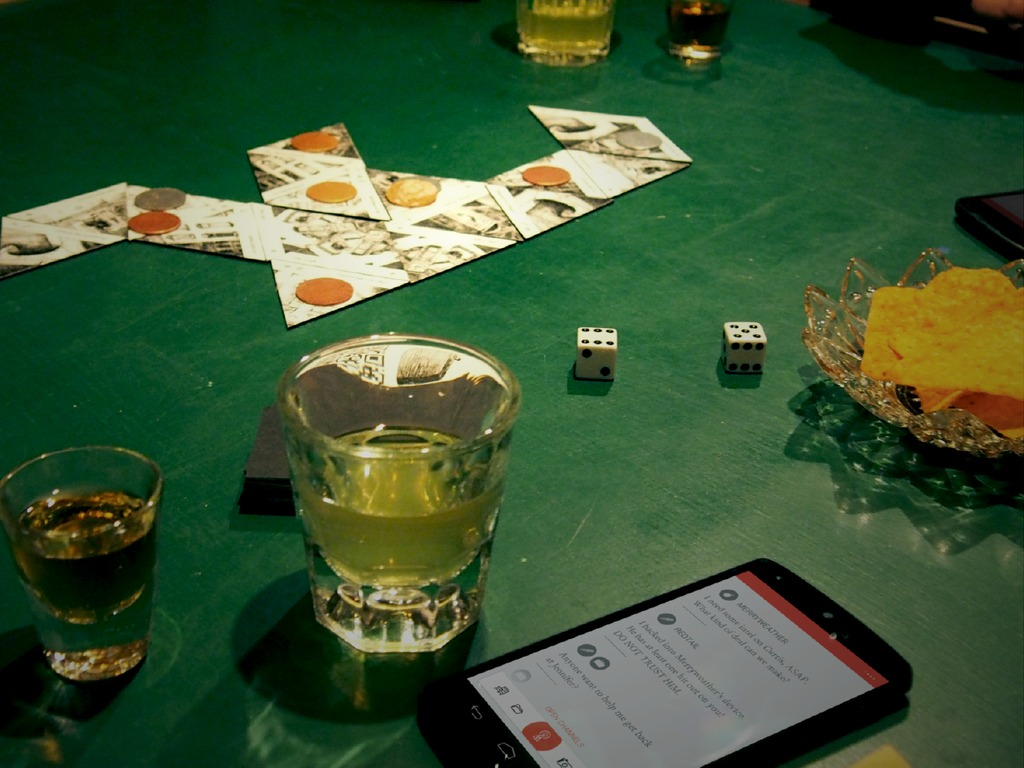 COLLUSION: A game of brazen deceit & unspeakable treachery.'s video poster