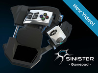 Sinister: Immersive and Modular Multi-Platform Game Pad