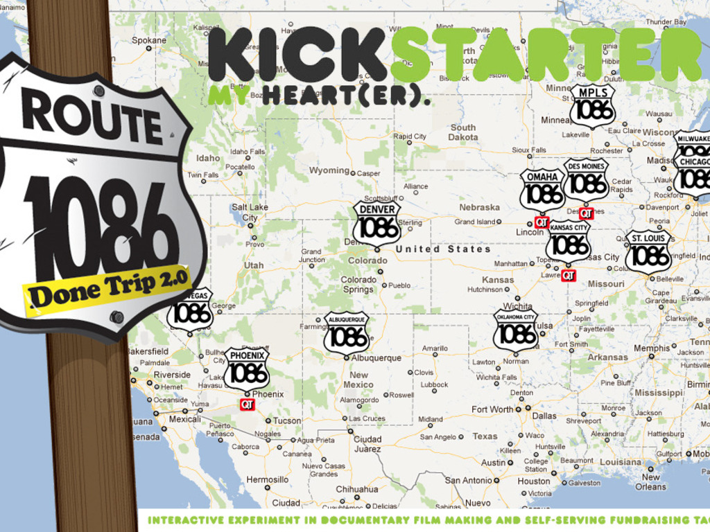 Done Trip 2.0 Route 1086 - Kickstarter My Heart's video poster