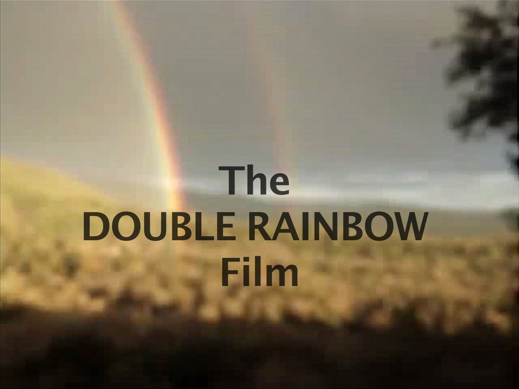 DOUBLE RAINBOW - What Did It Mean?'s video poster