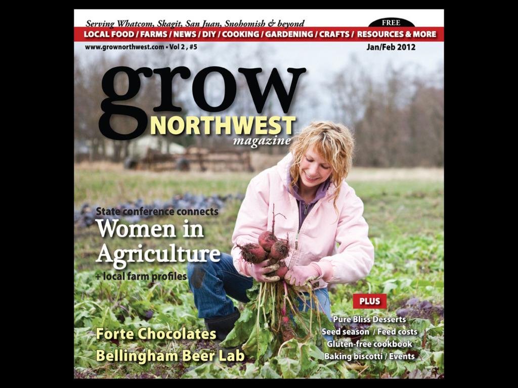 Grow Northwest magazine's video poster