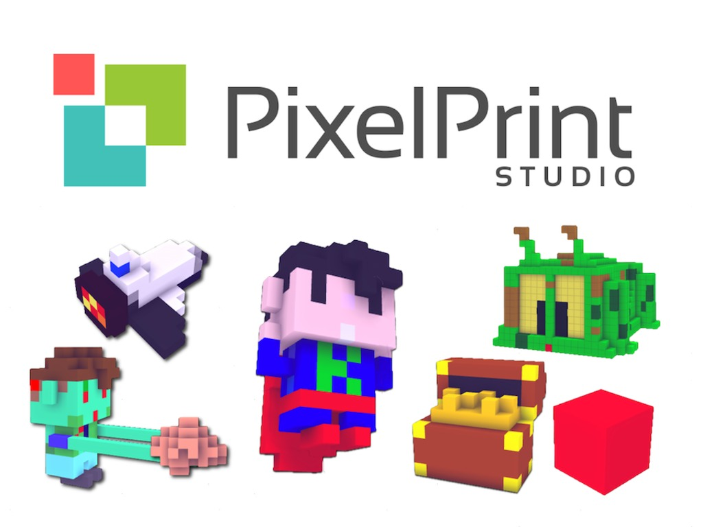 PixelPrint Studio - Easy 3D Printing from your iOS device's video poster