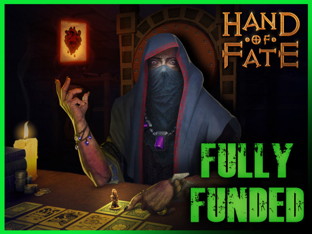Hand of Fate, a card game that comes to life's video poster