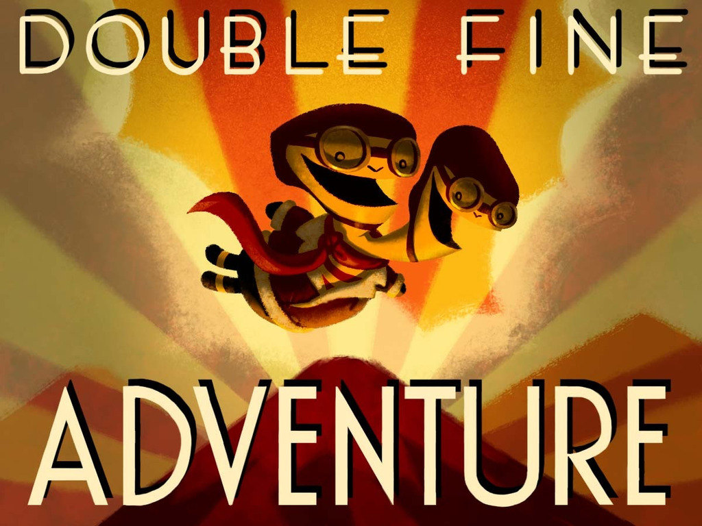 Double Fine Adventure's video poster