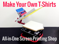 Merchmakr: desktop screen printing shop