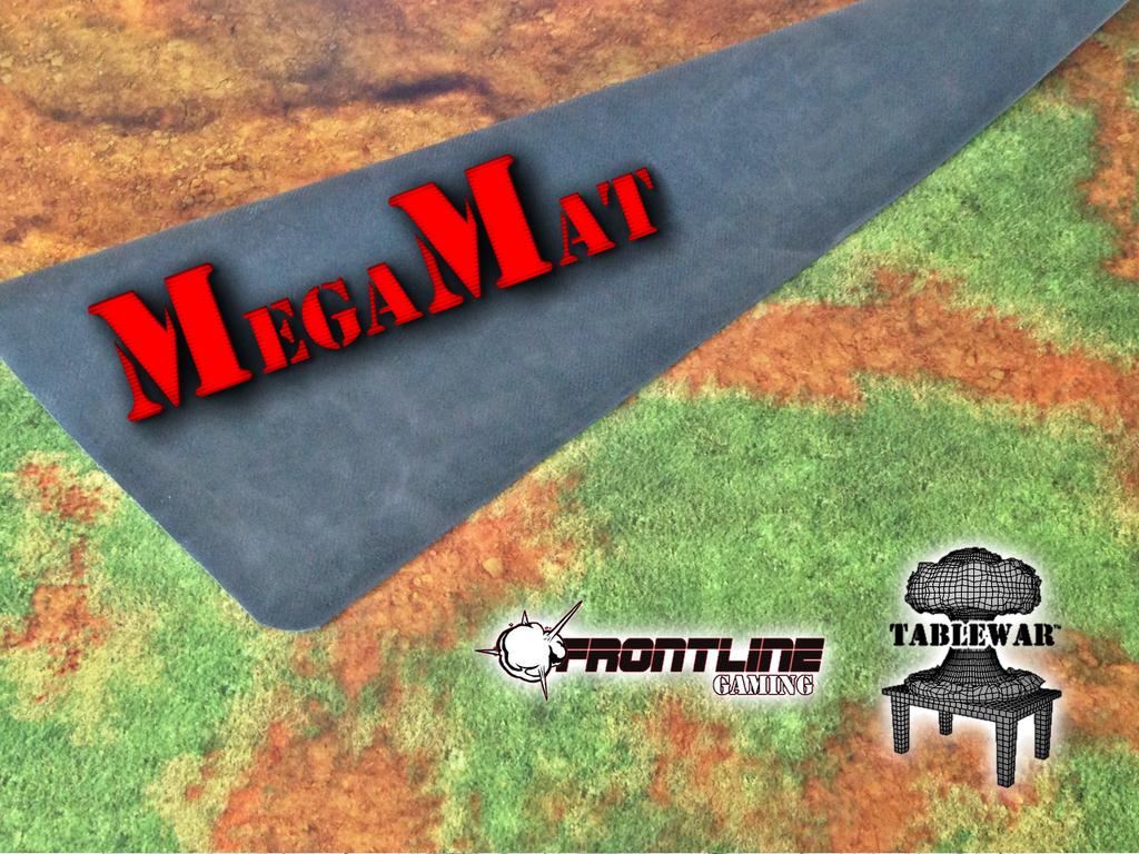 Frontline Gaming & TABLEWAR™ MegaMat Gaming Mat's video poster