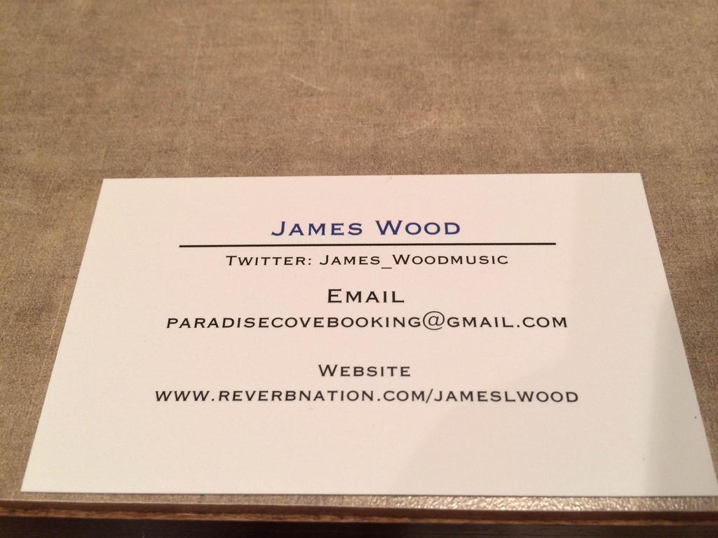 James Wood Album Debut's video poster