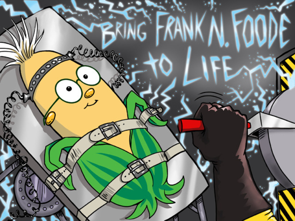 Bring Frank N. Foode™ to Life!'s video poster