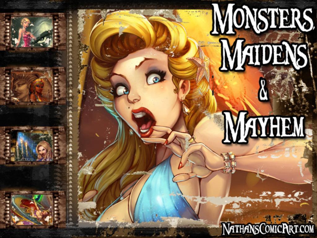 Monsters, Maidens & Mayhem's video poster
