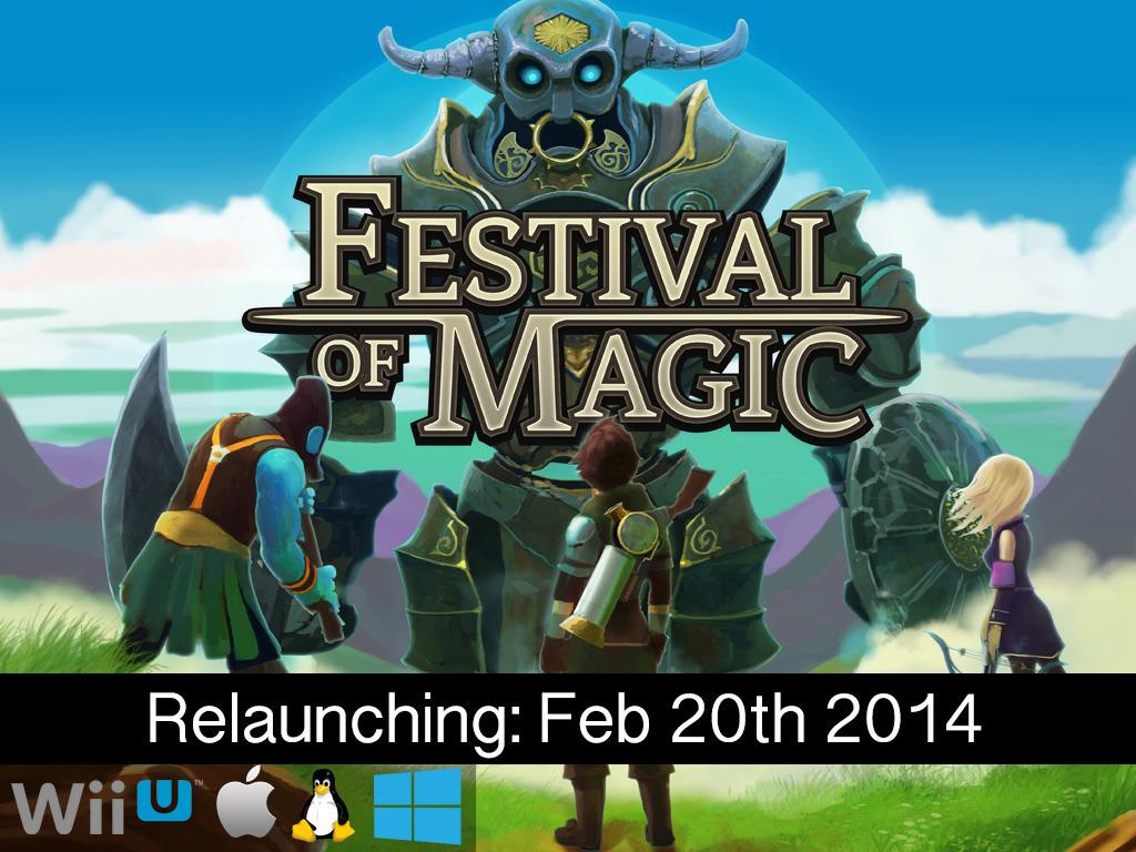 Festival of Magic - Wii U/PC/Mac/Linux/Steam (Canceled)'s video poster